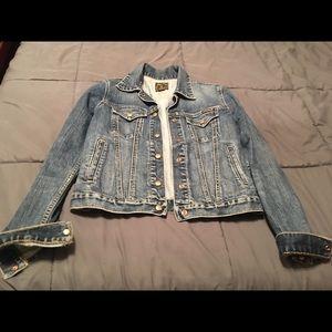 Women's Lucky Brand jean jacket SZ S